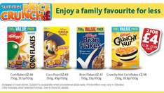 2 for £4 - Kellogg's Corn Flakes 750g/ Coco Pops 550g/ Bran Flakes 750g/ Crunchy Nut 750g @ Morrisons