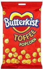 Butterkist Toffee Pop Corn Large 200g bag,was £1.49 Now Only 80p @ Morrisons