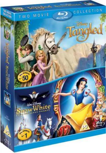 Tangled / Snow White (Blu-Ray) - £14.39 (using code) @ Sainsburys Entertainment