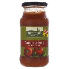 Tesco Trattoria Verdi Original Pasta Sauce 500G for 20P only