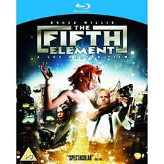 The Fifth Element (Blu-ray) (Pre-order) - £10.39 (using code) @ Sainsburys Entertainment