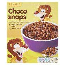 Tesco Choco Snaps 375G - 64p