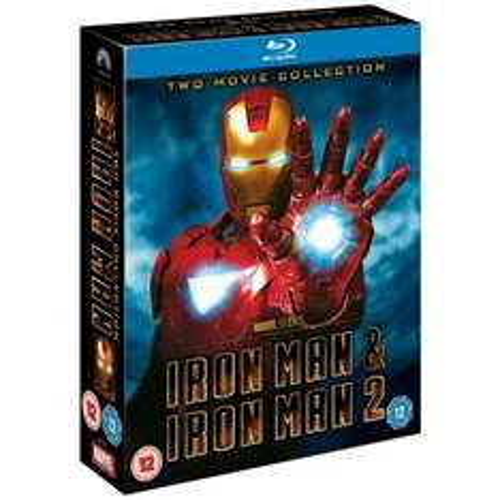 Iron Man 1 & 2 - Double Pack (Region Free) (Blu-ray) - £18.39 (using code) @ Sainsburys Entertainment