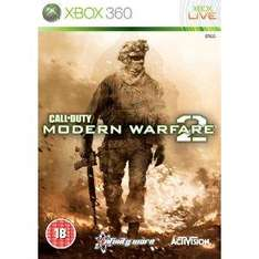 Call of Duty Modern Warfare 2 Xbox 360 Preowned £7.99 @ Game