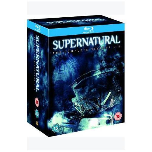 Supernatural: Seasons 1-5 Box Set (Blu-ray) (19 Disc) - £62.39 (using code) @ Sainsburys Entertainment