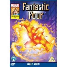 Fantastic Four DVDs (Animated Series, Season 2, Vol 1 & 2) - £1 each @ Poundland