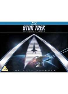 Star Trek: The Original Series (Complete Collection) (Blu-ray) - £95.99 (using code) @ Sainsburys Entertainment