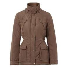 Brown Two-Tone Padded Womans Jacket - Was £45 Now £18 @ Debenhams