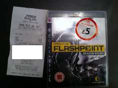 Operation Flashpoint: Dragon Rising (PS3) (Pre-owned) - £5 @ Tesco (Instore)