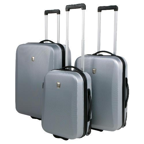 Glimmer 3 Piece Trolley Case Set - £70 @ Tesco Direct