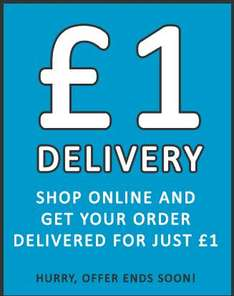 Hurry!! Delivery Just £1 for a Limited Time Only @ Peacocks (Online)
