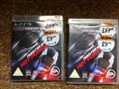 Need for Speed: Hot Pursuit Limited Edition XBOX and PS3 (Pre-owned) - £9.99 @ Gamestation (Instore Only)