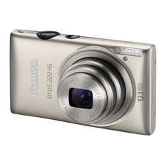 Canon IXUS 220 HS Silver - £160.92 Delivered @ eBuyer (+ £20 Canon Cashback)