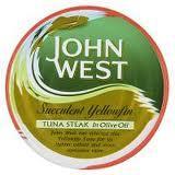 John West Yellowfin Tuna Steak - (2 Cans for £1) @Poundland