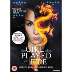 The Girl Who Played With Fire (DVD) - £5 @ Amazon