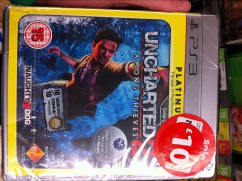 Uncharted 2 - Platinum (PS3) - £10 @ Asda (Instore)