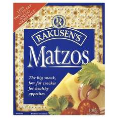 3 Packets of Rakusen's Traditional Matzos Large Crackers for only 29p ! ,instore @ Sainsburys