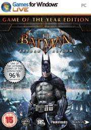 Batman: Arkham Asylum GOTY (PC) £3.74 @ GamersGate (Download)