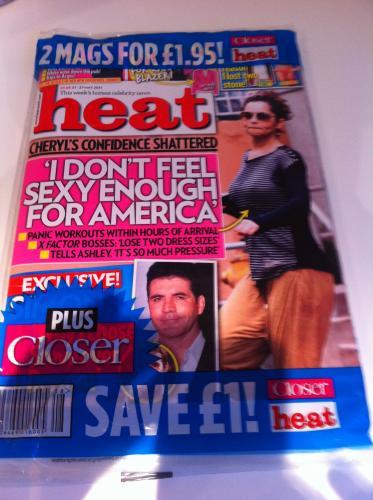 Heat / Closer Magazine Twin Pack - £1.40 @ Waterstones