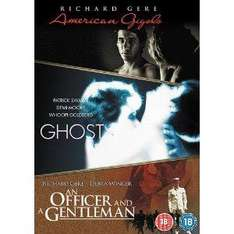 3 Film Box Set - American Gigolo / Ghost / Officer and Gentleman (DVD) - £3.99 @ Amazon