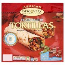 Discovery flour Tortilla wraps 29p @ Tesco instore