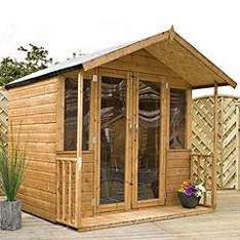 Mercia Summerhouse 7x7ft for garden £419 delivered @ sainsburys, 10 year guarantee