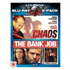 Chaos / Bank Job [Blu-ray]  - £7.92 @ Amazon