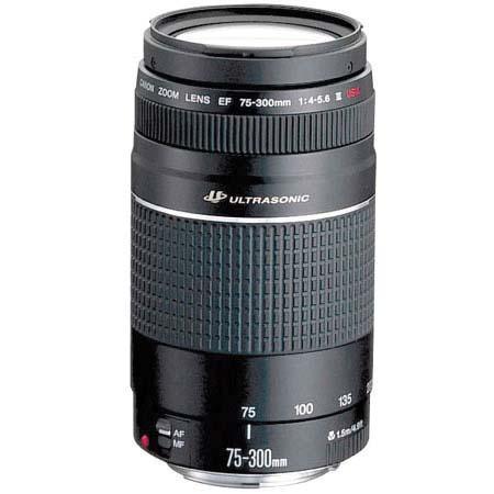 Canon EF 75-300mm USM III Digital SLR Lens from Amazon £149.95