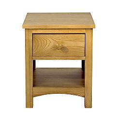 Milton Hardwood Bedside Table was £129 now £38.70 @ sainsburys