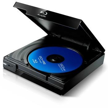 Plextor PX-B120U Slim USB Blu-Ray Rom Drive - £47.99 @ Scan (Today Only)