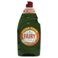 Fairy huge 900ml original/lemon half price @tesco £1.02