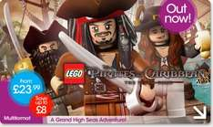 Lego Pirates Xbox/PS3 £35 trade in + £5 Points @ Game (19/05 - 25/05)