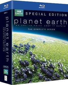 Planet Earth: Special Edition (Blu-ray) £14.39 (using code) @ Sainsburys Entertainment