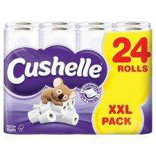 Cushelle 24 Pack White Toilet Rolls - Just £7 Instore & Online (£6.50 with voucher!) @ Tesco!