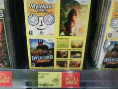 My Word Coach, Narnia 2 & Overlord Triple Pack (Wii) - £15 @ Asda (Instore)