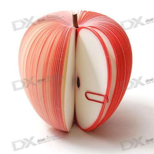 Unique Creative Apple Shaped Memo Pad - 0.95£ @Dealextreme