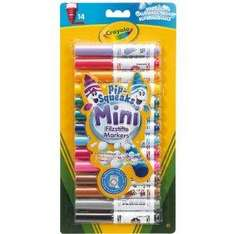 Crayola Pip-Squeaks - Mini Markers (14 Pack) now £2.30 delivered @ amazon