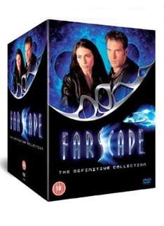 Farscape - The Definitive Collection Boxset £47.19 Delivered @ Sainsbury's Entertainment (using code JSDB1605)