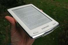 "Samsung E60 6"" eReader, £62.99 using code at Currys ebay outlet"