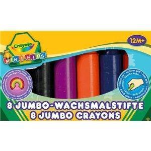 Crayola 8 Jumbo Crayons Assorted Colours  £1.87 Delivered @ Amazon