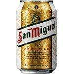 San Miguel Spanish Premium Lager,10 X 440ml cans, Only £7.49 @ Netto