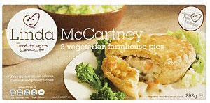 2 x Linda McCartney Vegetable Pies X 2 for £2 @ Sainsbury`s