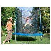 8ft Trampoline with Enclosure £89.97 delivered/ £84.97 collect @ Tesco Direct