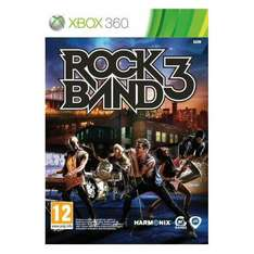 Rock Band 3 (Xbox 360) (PS3) (Wii) - £12.99 Delivered @ play.com