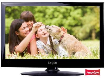 """Kogan 12V 19"""" LED TV, Digital Tuner, built-in PVR £118 delivered"""