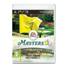 Tiger Woods PGA Tour 12: The Masters PS3 and XB360 £24.99 @ play.com