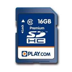16GB SDHC CLASS 10 Memory Card £13.89 Delivered @ Play.com