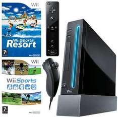 Wii Bundle Black Console+Wii Sports+Wii Sports Resort £99 3 day deal @ Toy R Us