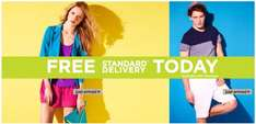 Free Standard Delivery for River Island!! Today only!!