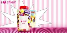 £10 instead of £20 for a giant jar of sweets at I Love Candy (Edinburgh)